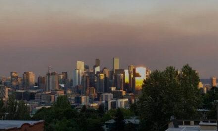 시애틀 일원에 매케한 산불 연기